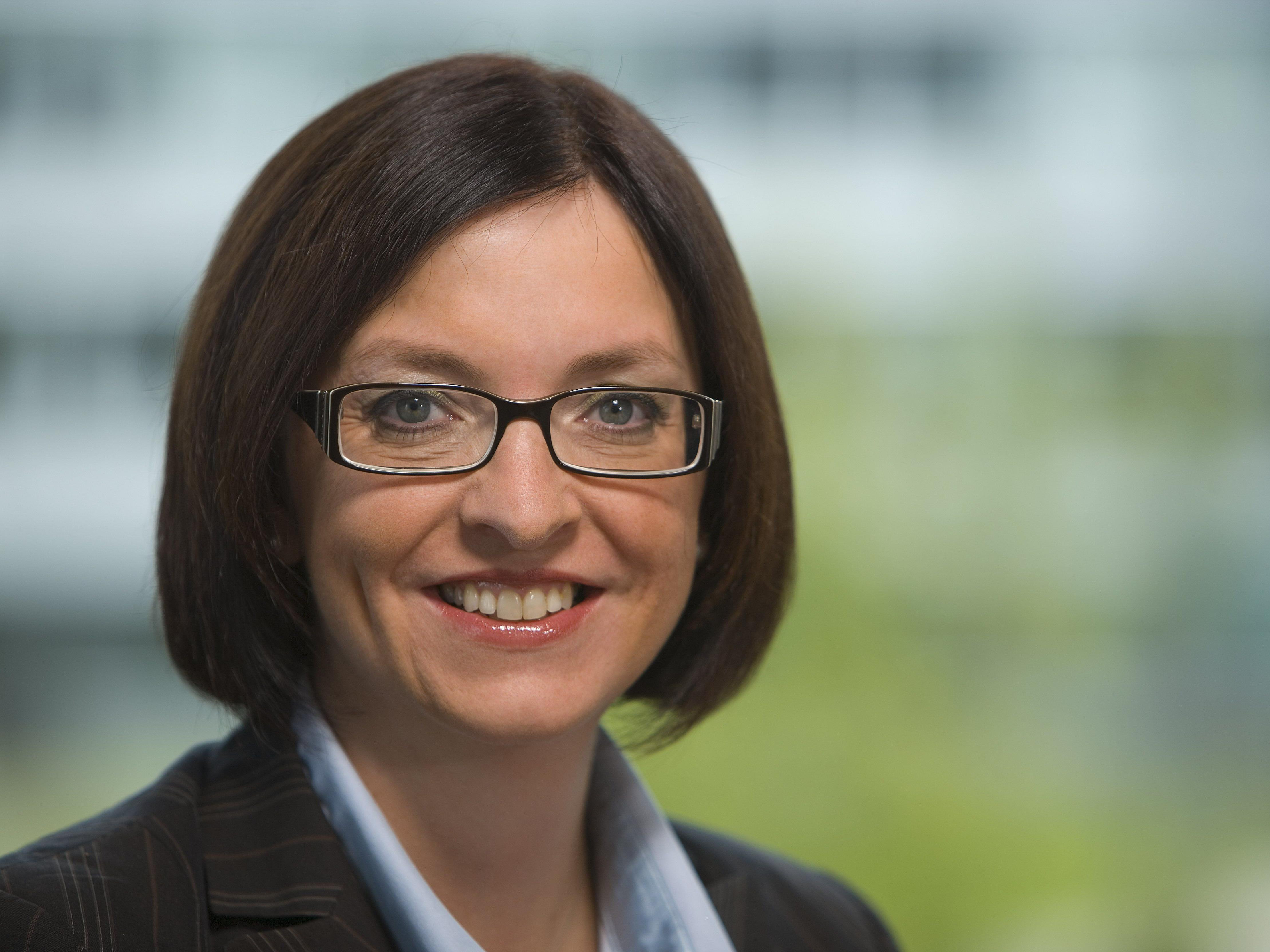 Die 44-jährige Karin Sonnenmoser ist die neue Finanzchefin der Zumtobel AG.