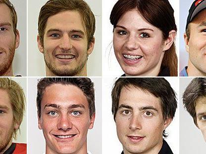 Acht Vorarlberger kämpfen um die erste Ländle-Medaille bei Olympischen Spielen seit 1998.
