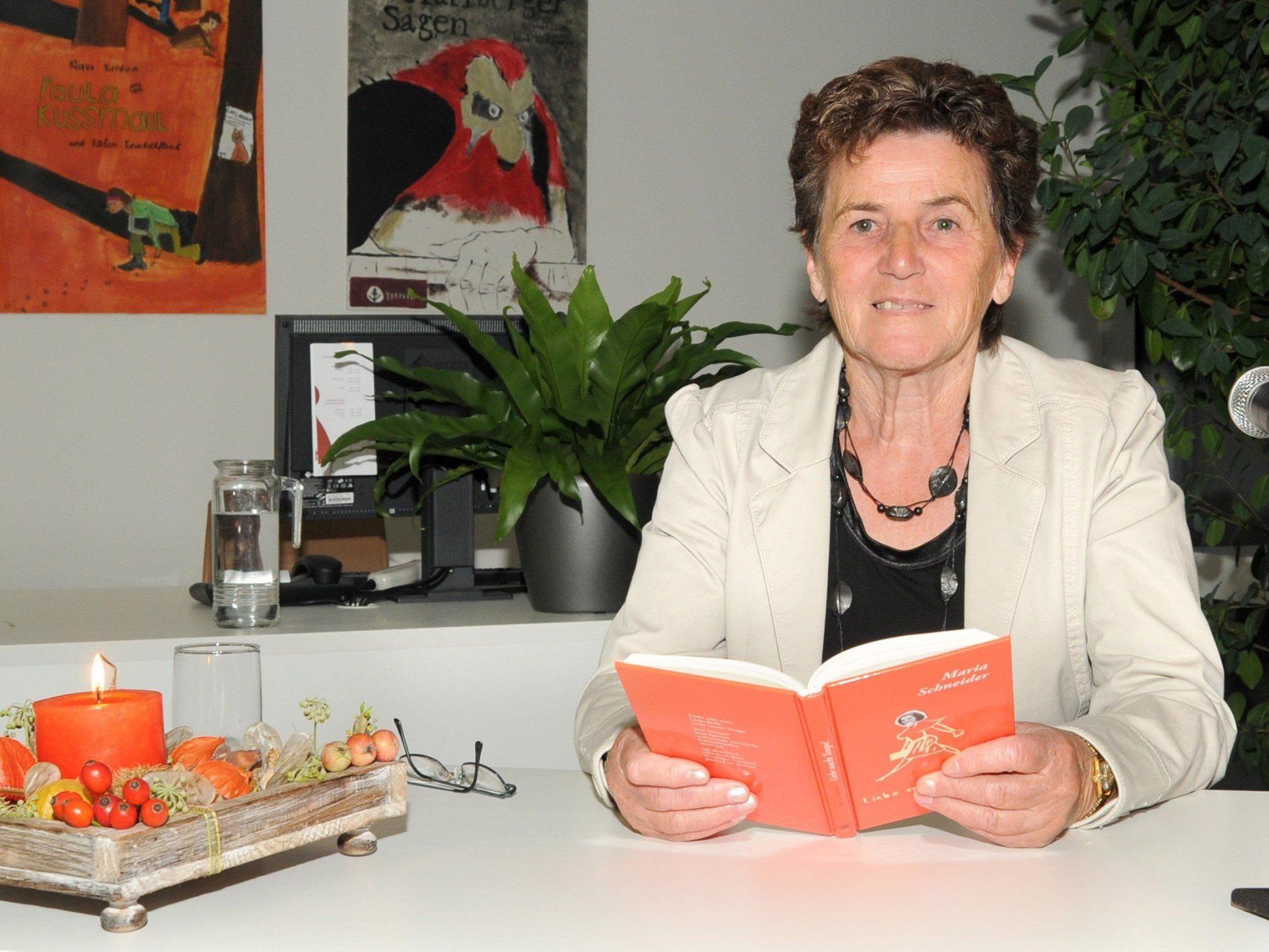 Maria Schneider liest in Höchst aus ihren neun bisher erschienenen Werken.