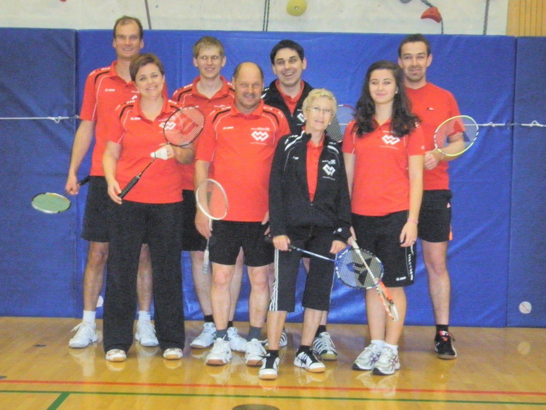 Badminton im Montafon.