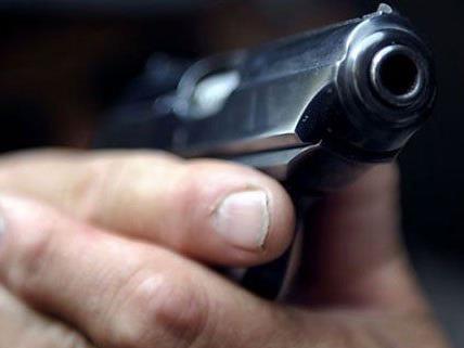 Der Bankräuber war bewaffnet