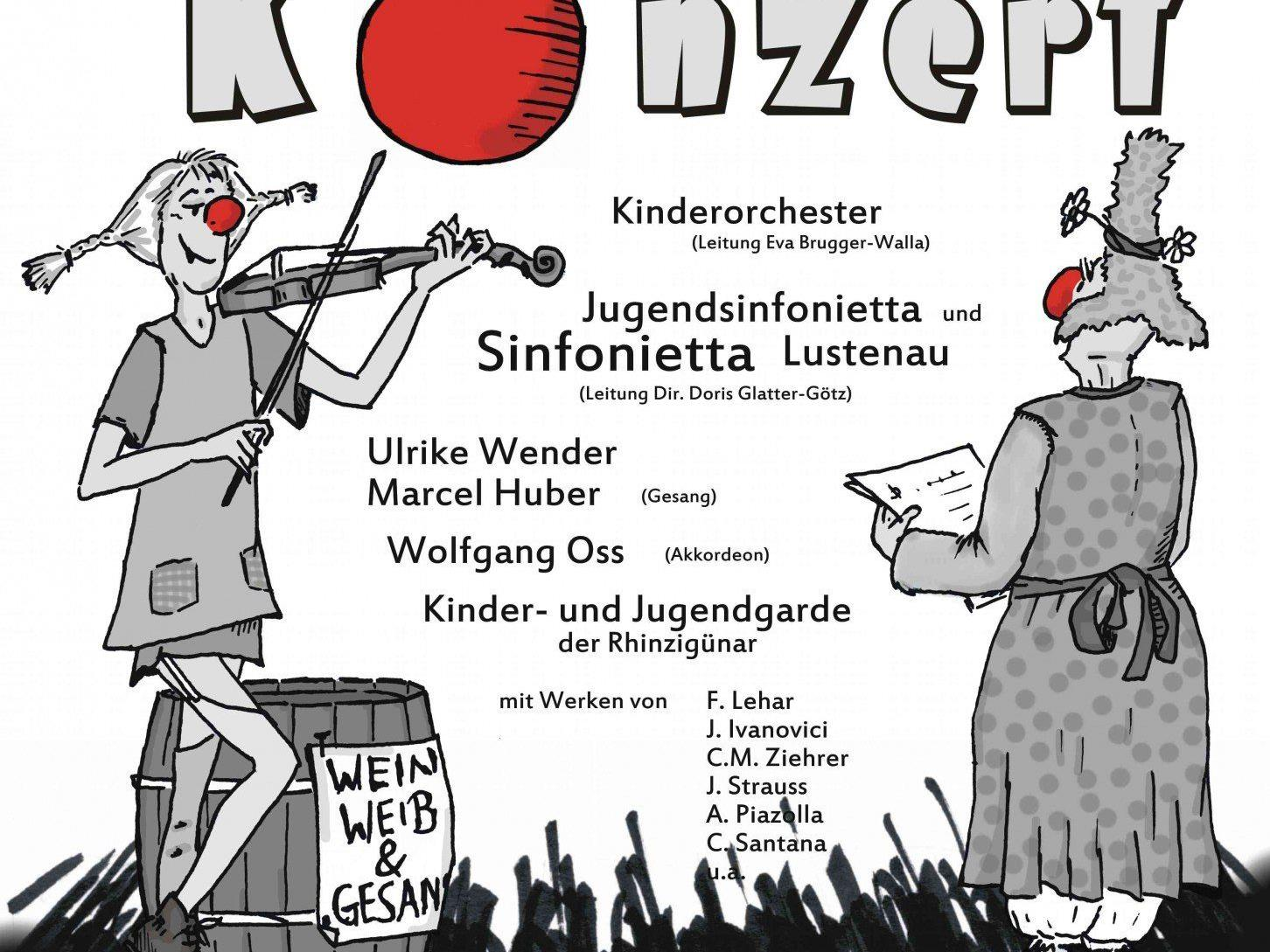Faschingskonzert der Rheintalischen Musikschule Lustenau