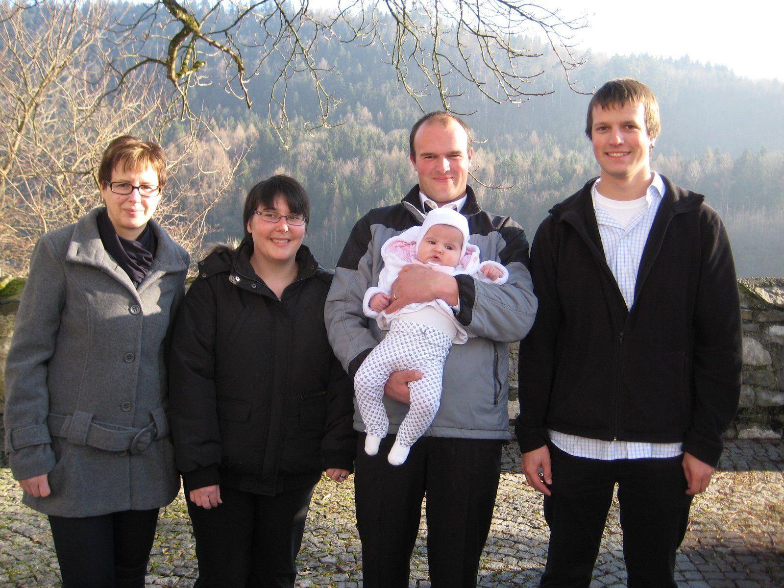 Valerie Egeter wurde getauft.