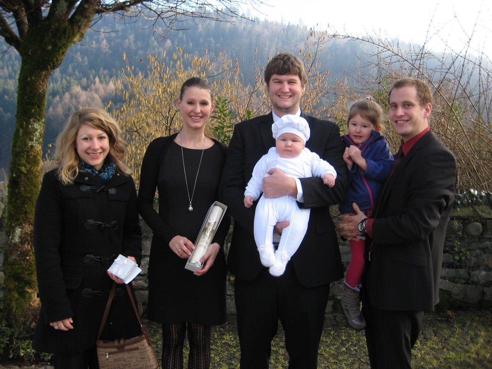 Remo Zambanini wurde getauft.