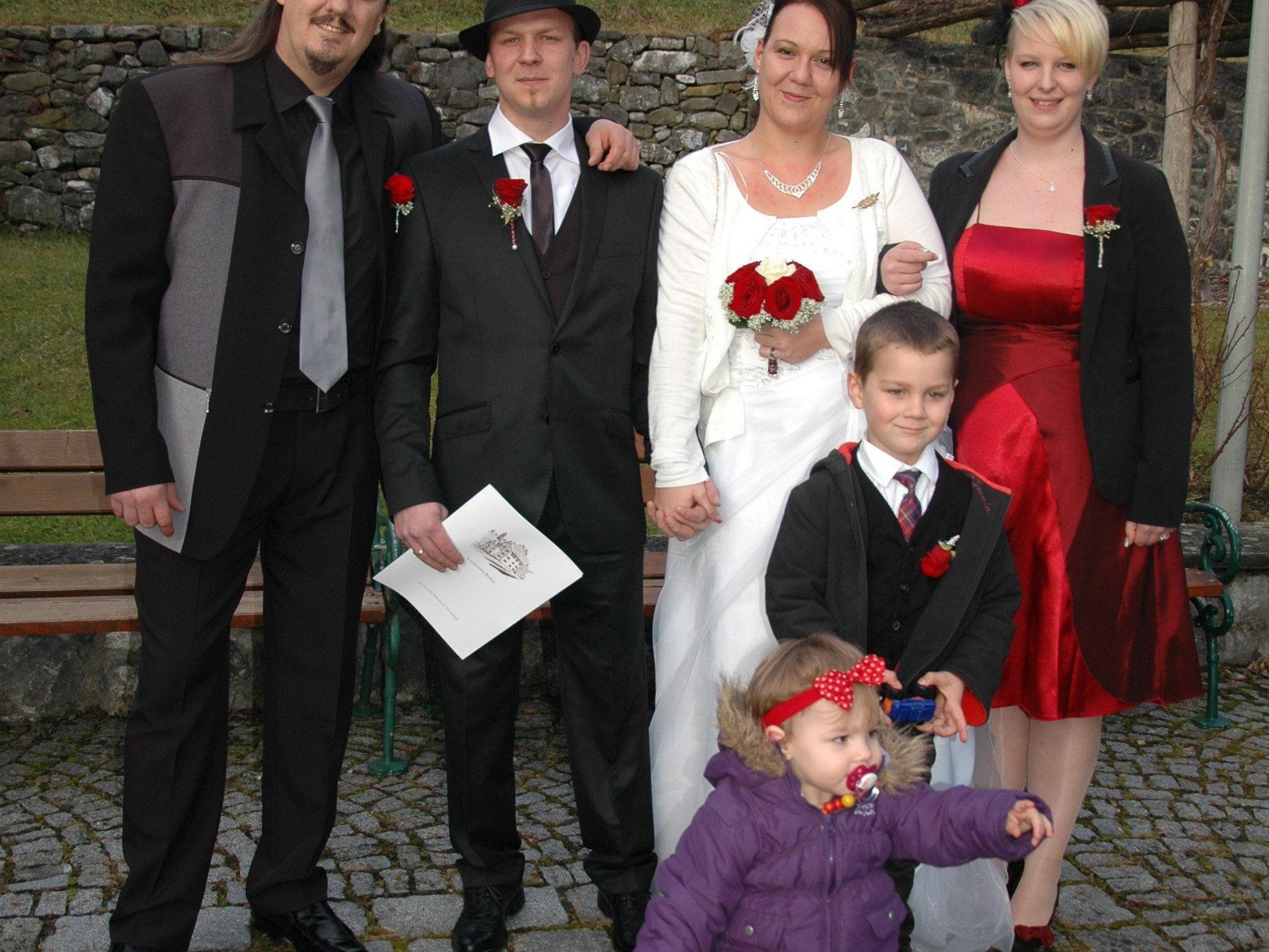 Manuela Sauerwein und Thomas Findrik haben geheiratet.
