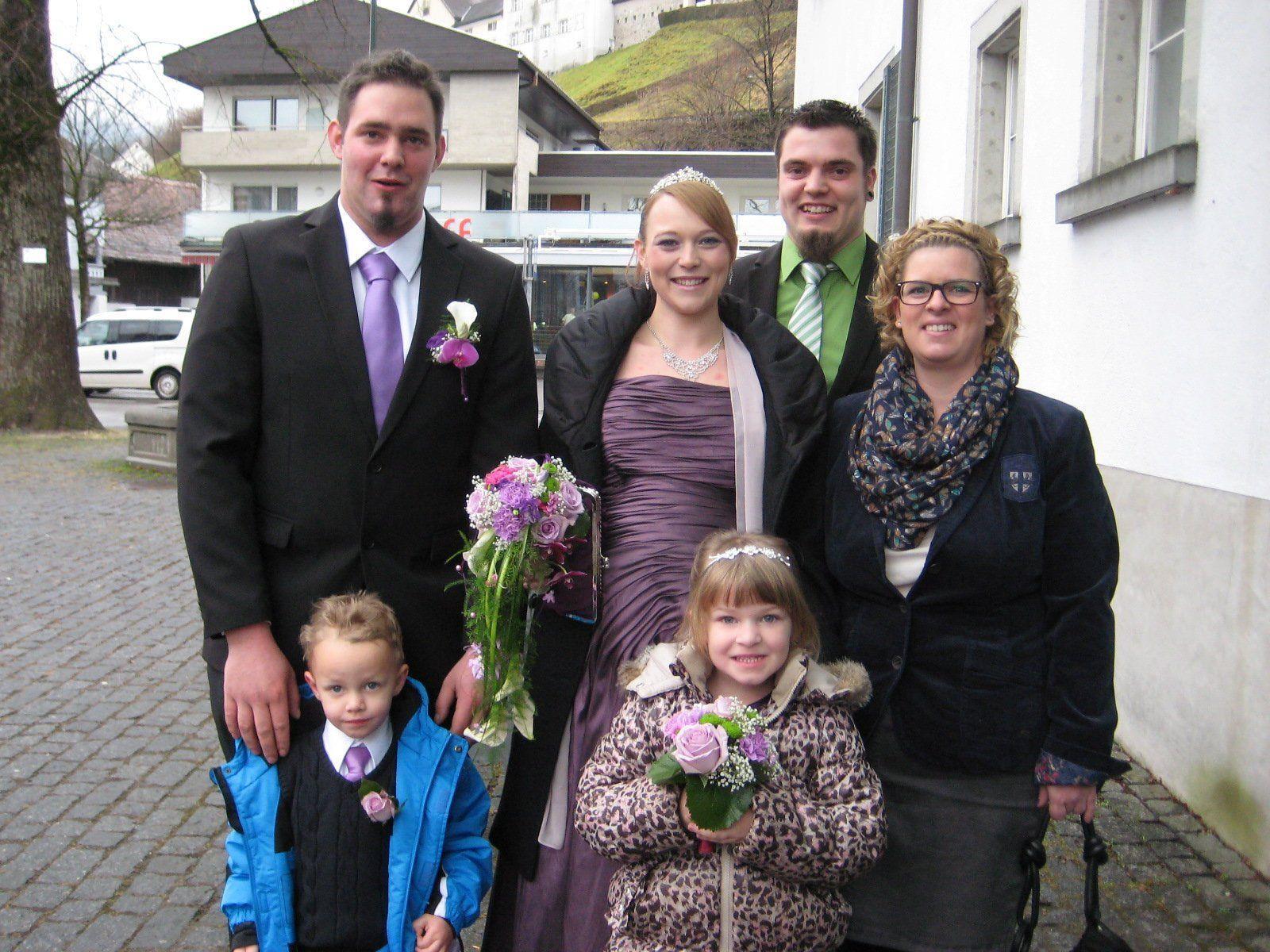 Sabrina Tagwercher und René Sieber haben geheiratet.