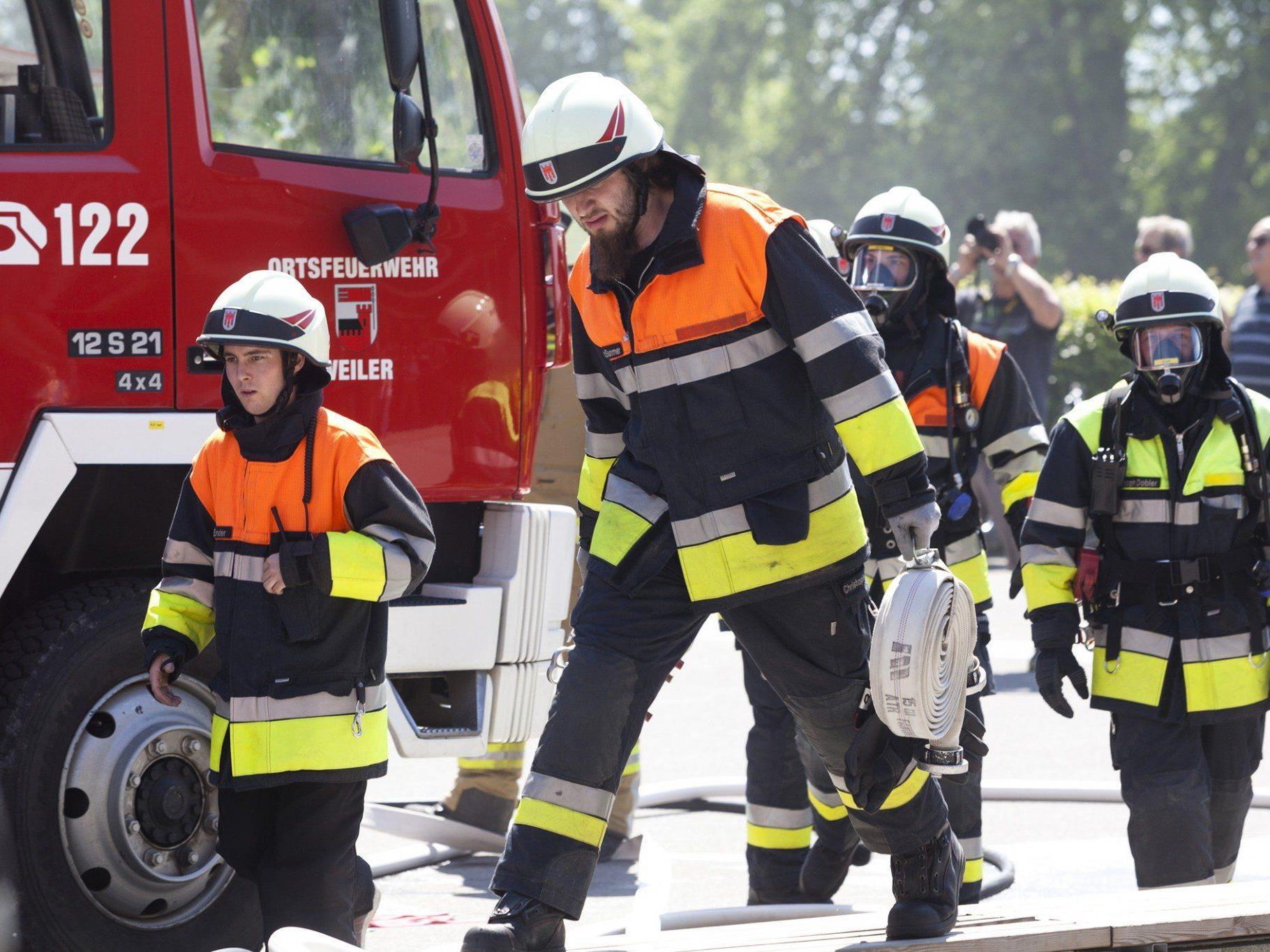 Zu insgesamt 4.818 Einsätze rückten die Vorarlberger Feuerwehren im Jahr 2013 aus.