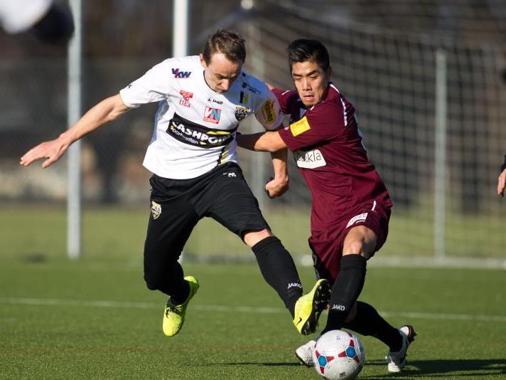 Hannes Aigner schoss vor der Pause in nur vier Minuten zwei Tore.