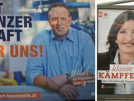 Die Vorarlberger Neos kritisieren den ihrer Meinung nach ideenlosen AK-Wahlkampf.
