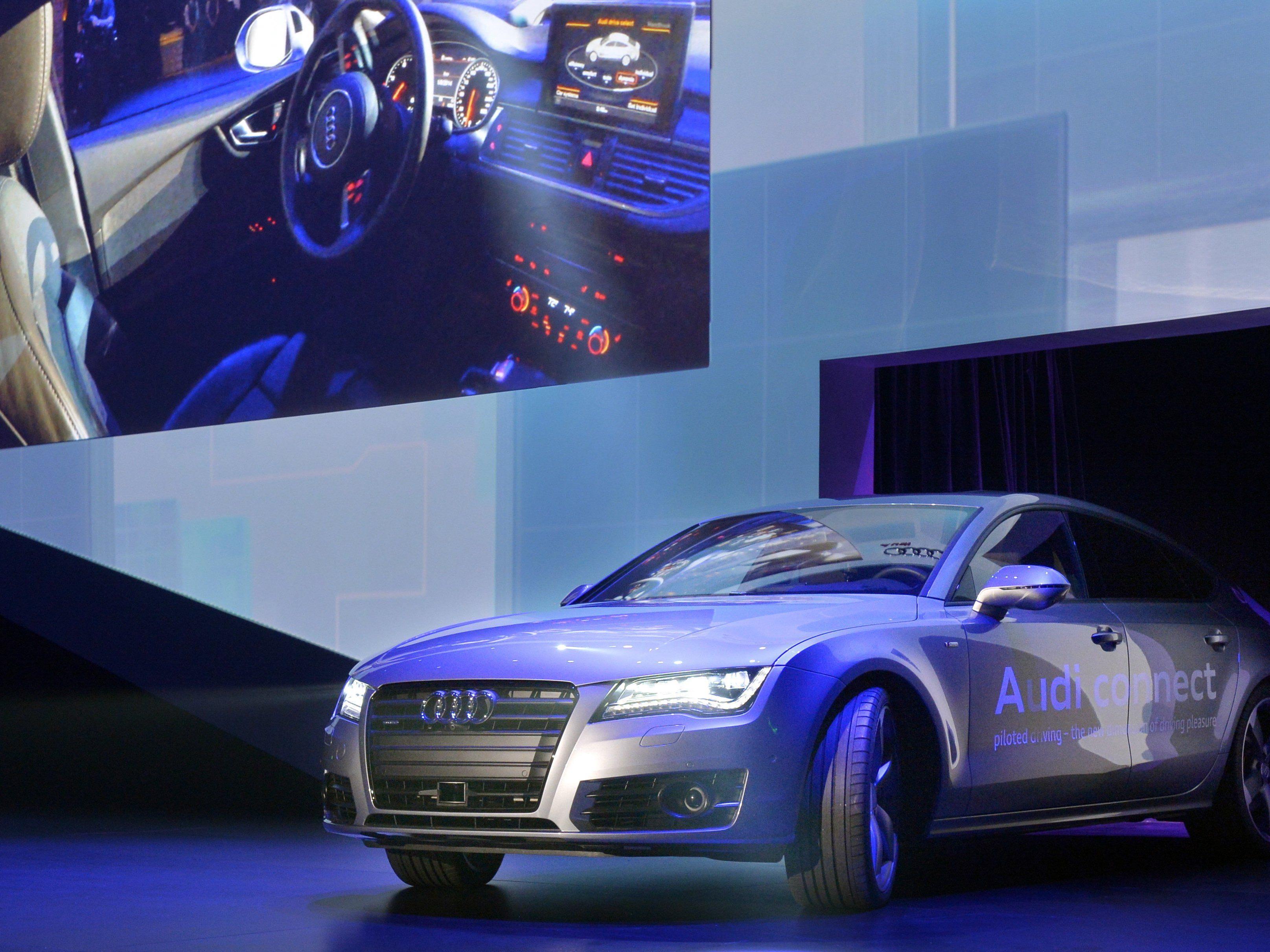 Highlight auf der Elektronikmesse CES sind die Prototypen von selbstfahrenden Autos.