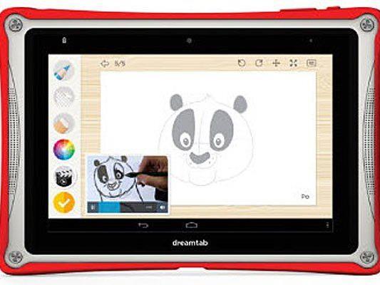 Auf der CES in Las Vegas präsentiert DreamWorks das Android-Tablet für Kinder.