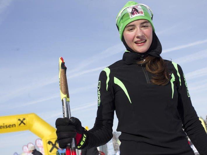 Die Schwarzenbergerin Jasmin Berchtold wird bei der WM an den Start gehen.