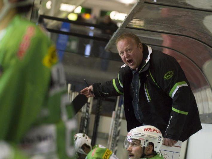 Meistertrainer Henrik Alfredsson trifft mit dem Bregenzerwald auf Kaltern.