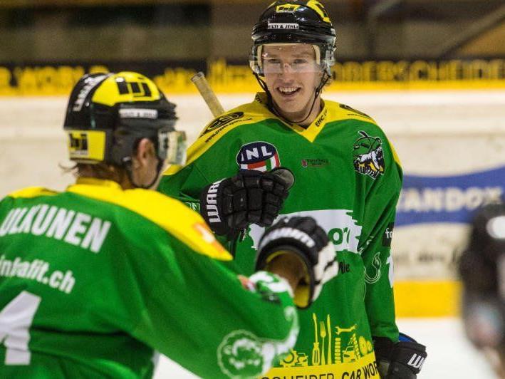 Als einzige Vorarlberger Mannschaft erreichte der EHC Lustenau das Ticket für das Play-off.
