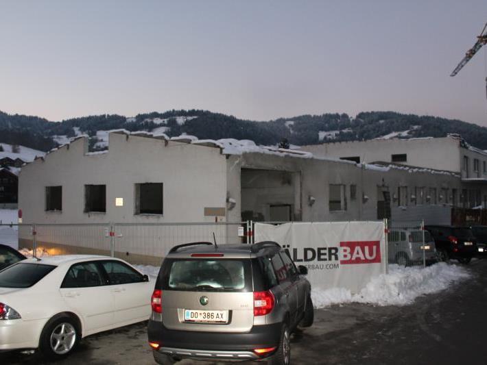 Noch im Dezember wurde die alte Schwarzenberger Sennerei abgerissen, um einer Nachnutzung Platz zu machen.