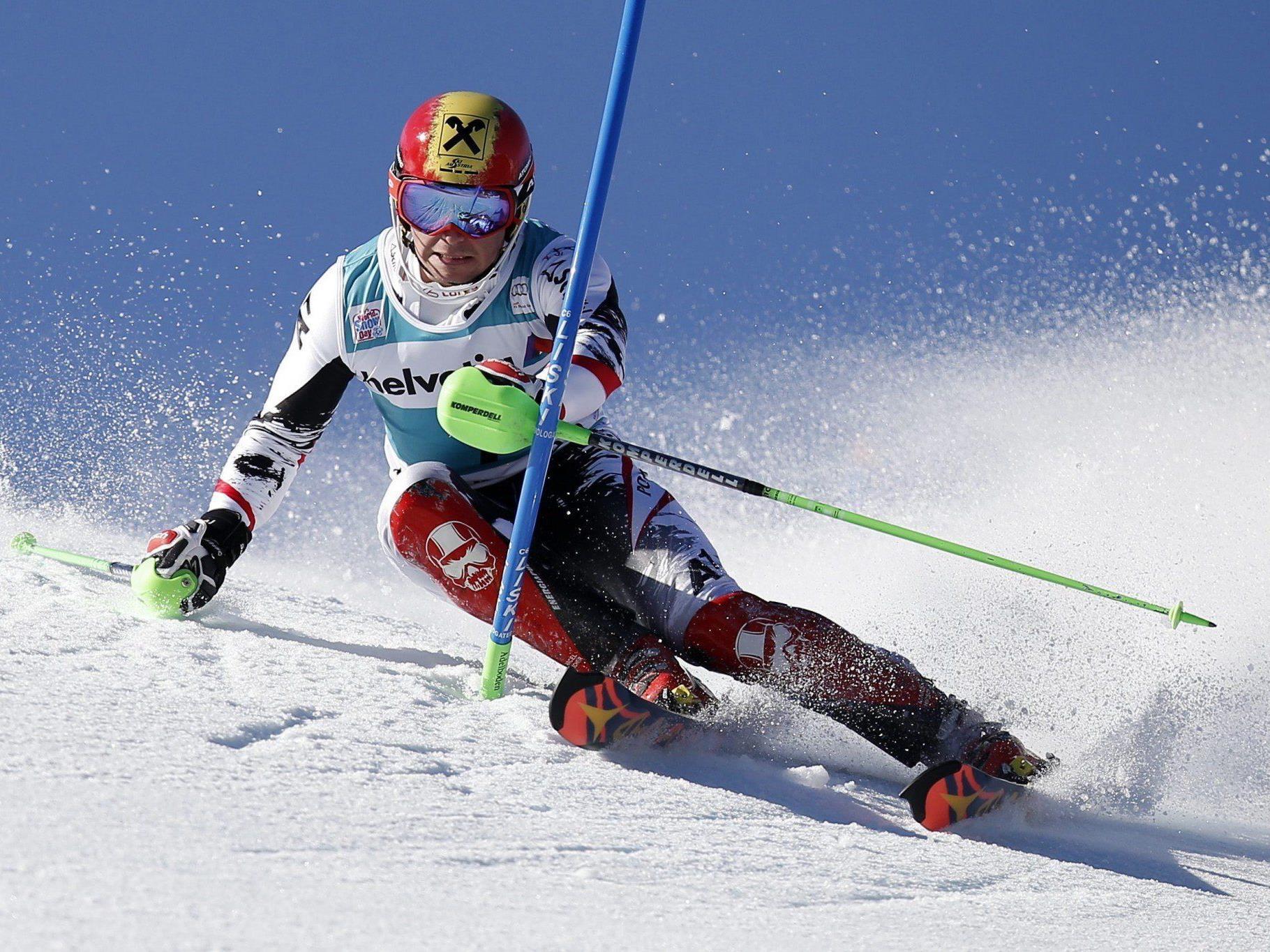 Hirscher peilt seinen ersten Sieg auf dem Lauberhorn an