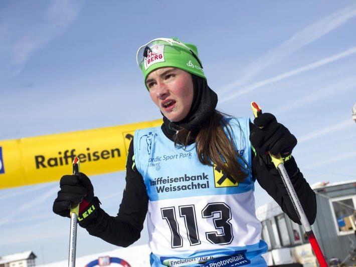 Die Schwarzenbergerin Jasmin Berchtold wurde österreichische Jugendmeisterin.