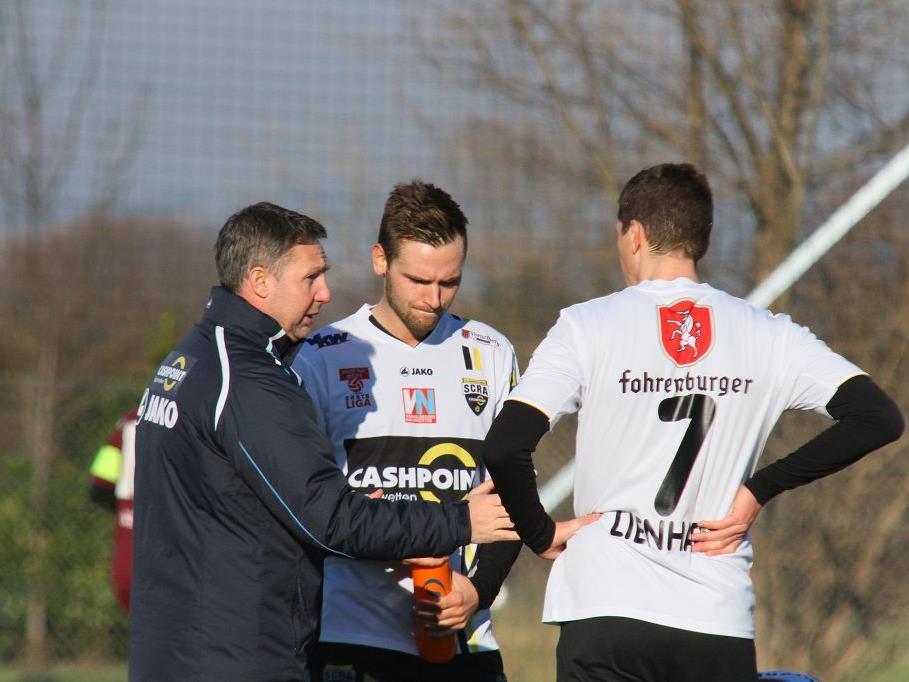 Altach Trainer Damir Canadi darf auf zwei neue Spieler zurückgreifen.