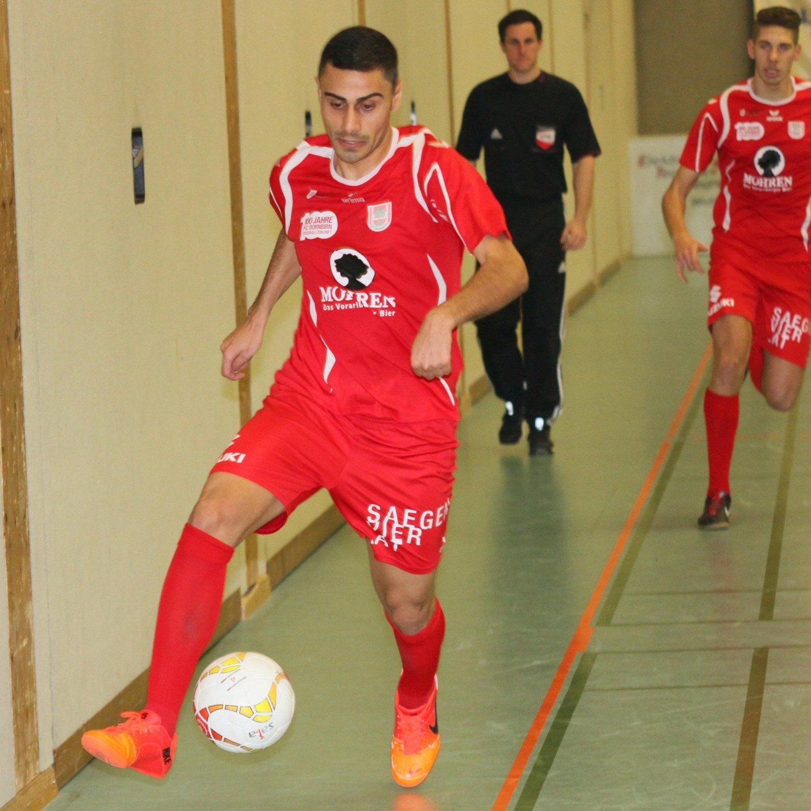 Dursun Karatay spielte schon bei beiden Lustenauer Klubs und schnürt nun für den FC Dornbirn die Schuhe.
