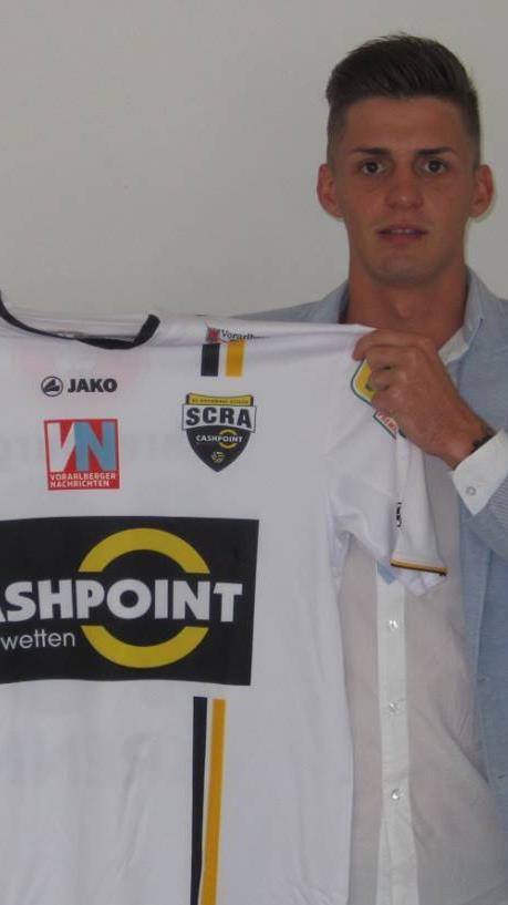 Daniel Krenn spielt ab sofort nicht mehr für den SCR Altach.