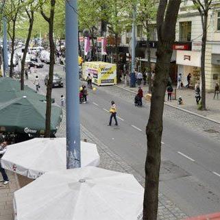 Mariahilfer Straße - Bar Italia sperrt zu