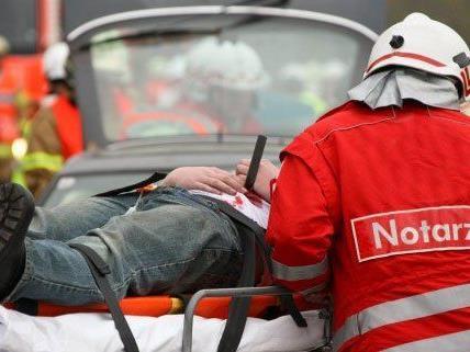 Ein Arbeiter wurde im 21. Bezirk schwer verletzt.