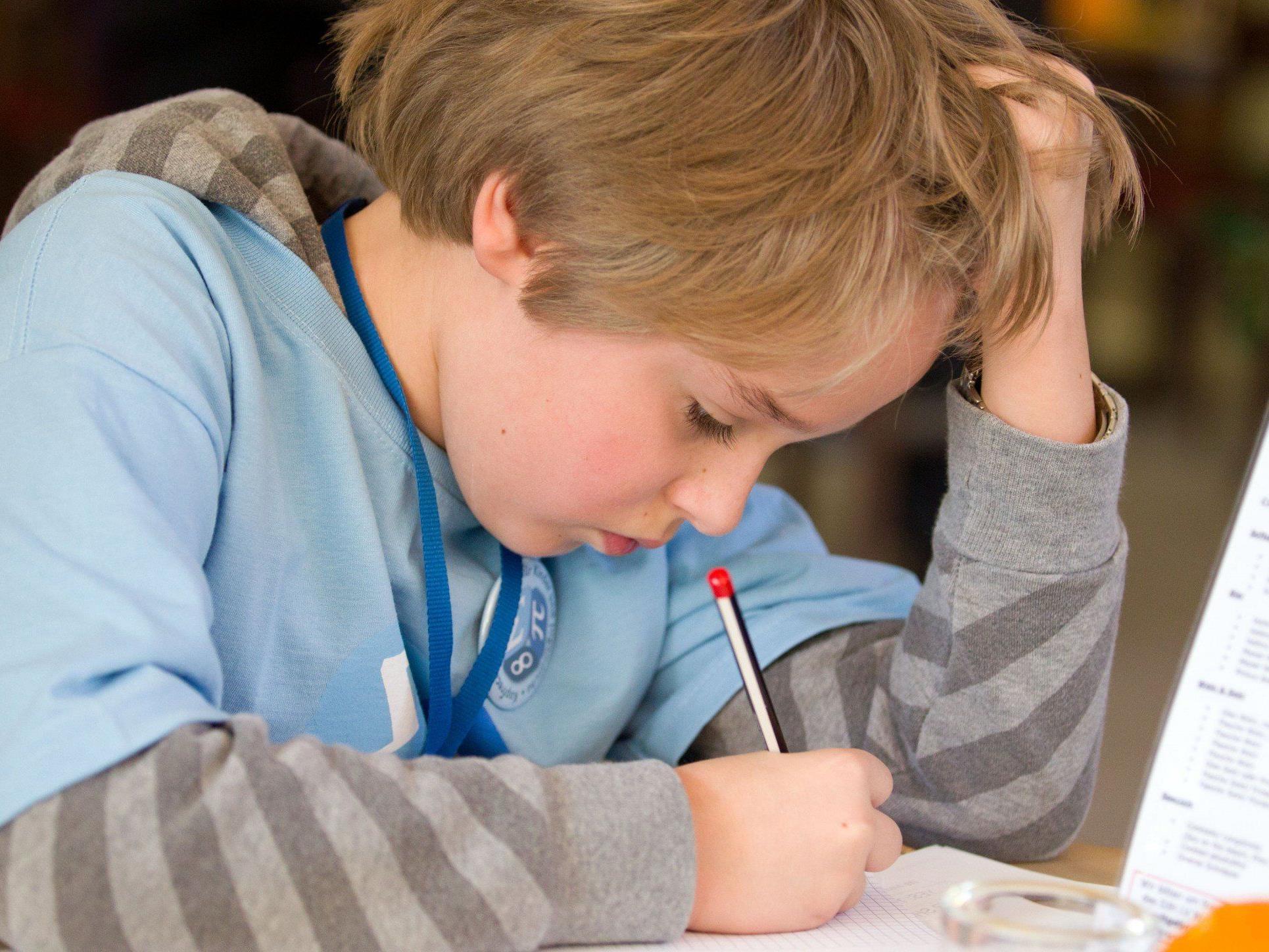 Vorarlbergs Volksschüler tun sich mit Mathematik im Bundesvergleich eher schwer.