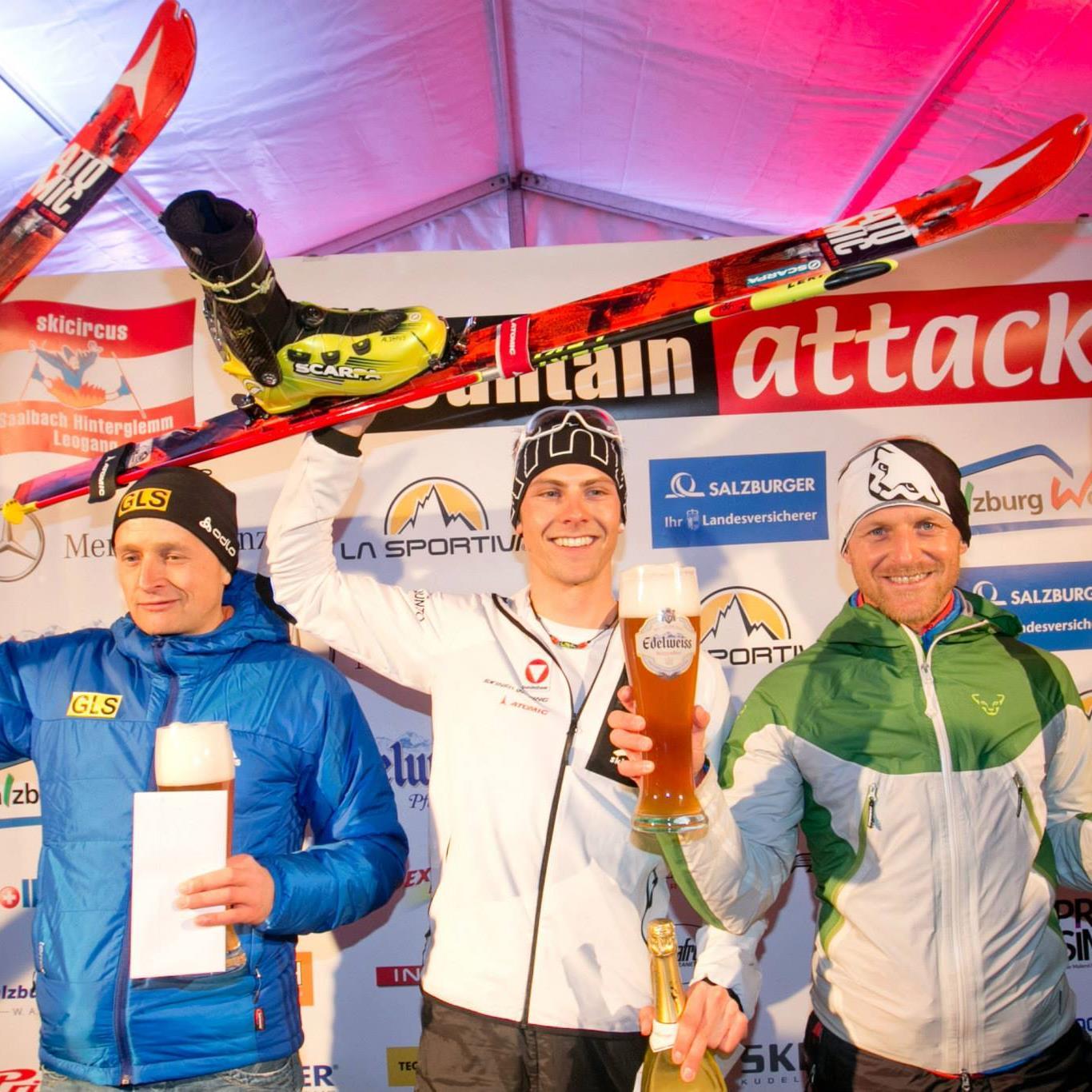 Der St. Gallenkircher Daniel Zugg gewinnt sensationell den Mountain Attack in Saalbach.