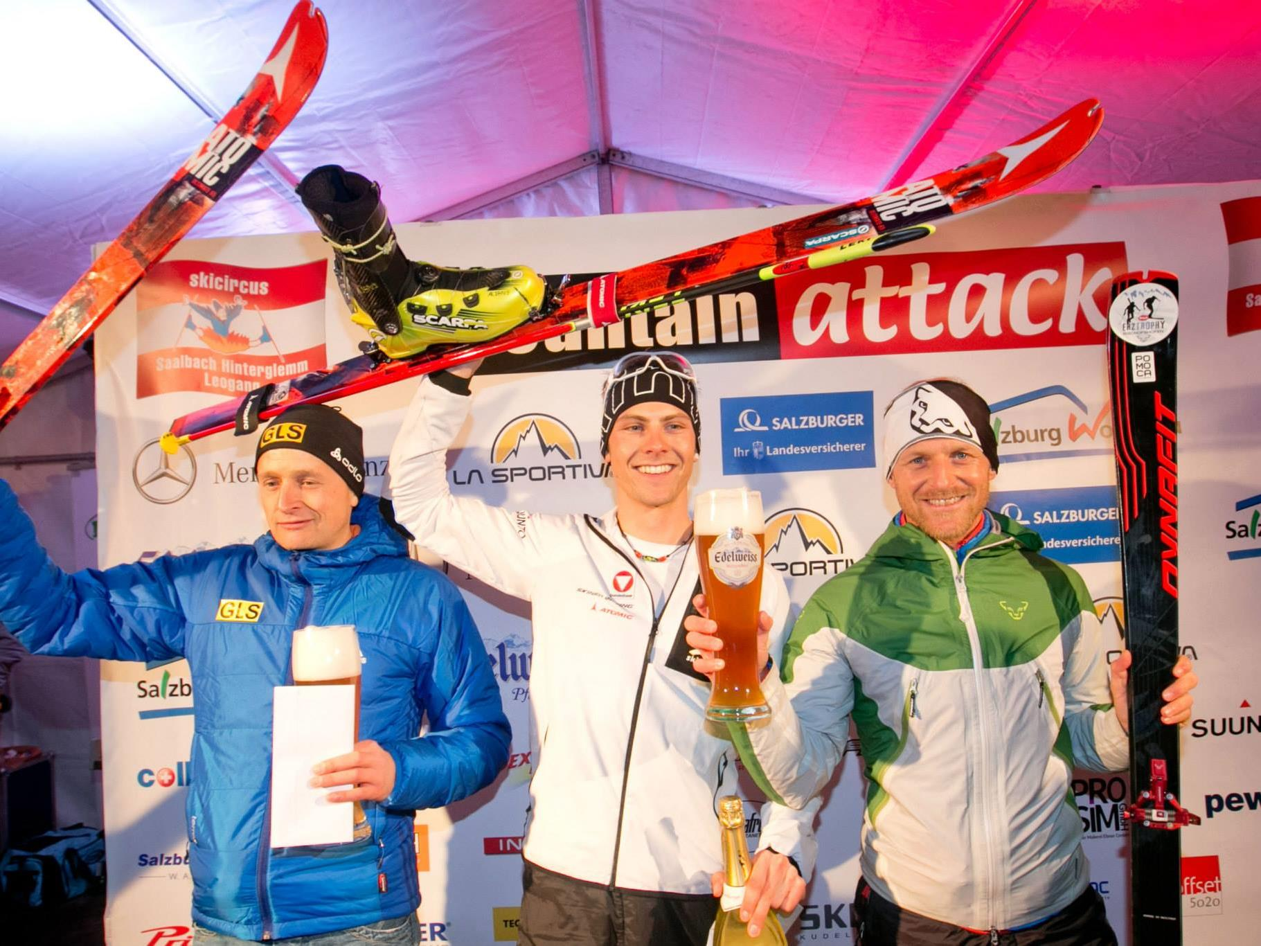 Der St. Gallenkircher Daniel Zugg gewinnt sensationell den Mountain Attack in Saalbach.