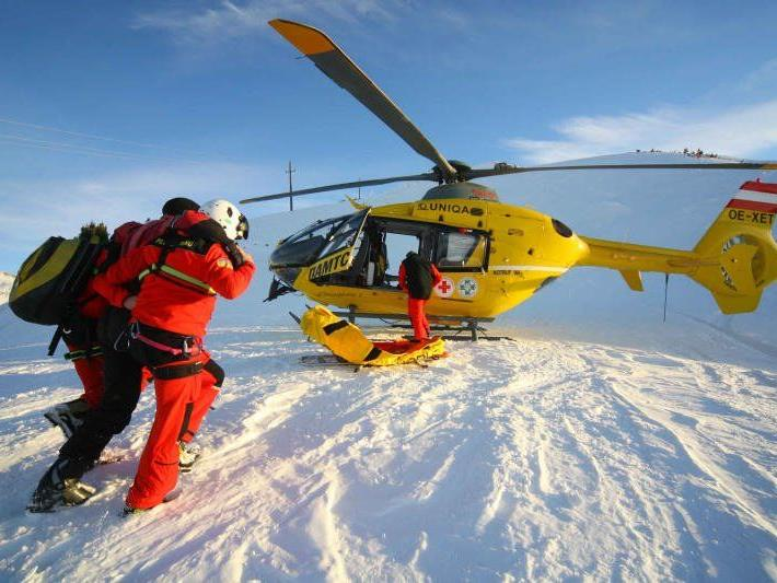 27-Jähriger erlitt durch Ski schwere Schnittverletzungen im Gesicht