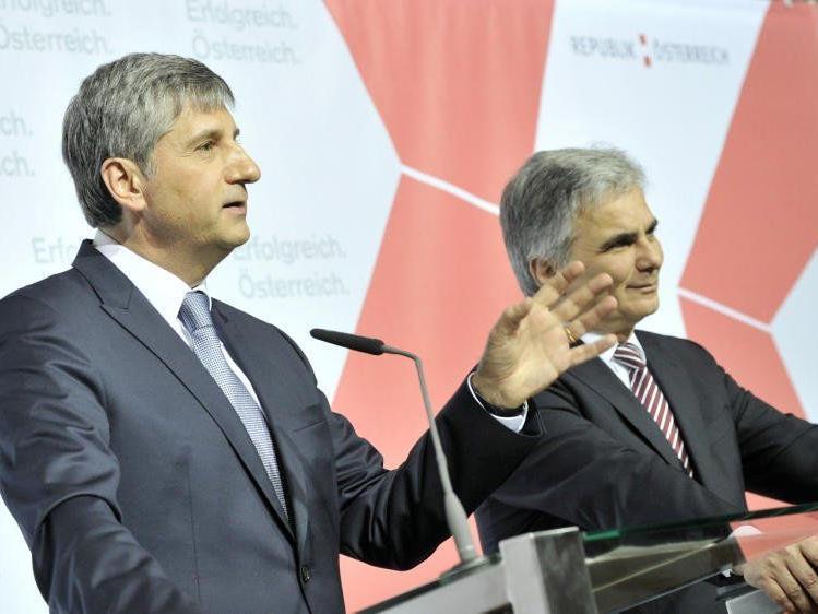 An Steuererhöhungen gehen SPÖ und ÖVP mit aller Entschlossenheit heran