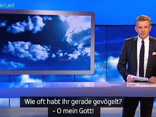 """Bei der vergangenen Sendung von """"Sport Aktuell"""" wurde der falsche Untertitel eingeblendet."""