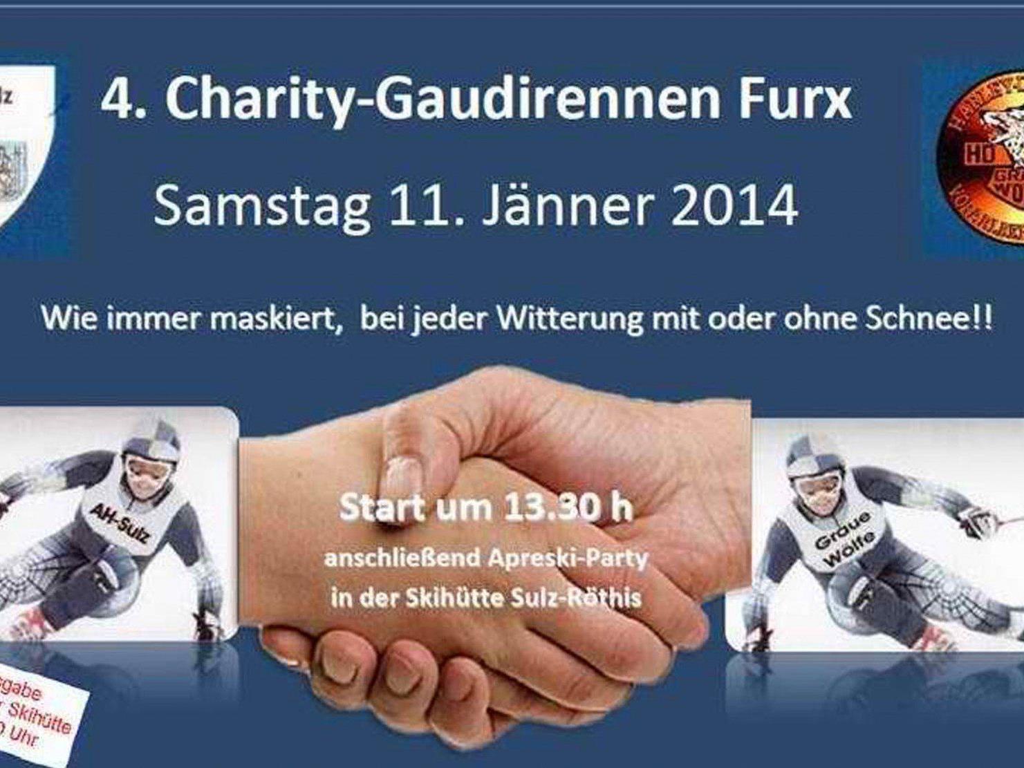Die Altherren des FC Sulz laden zusammen mit vielen Freunden zum Charity Schirennen nach Furx!