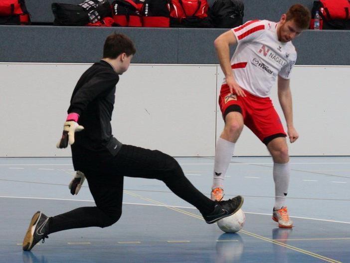 Adem Kum schoss RW Rankweil im Seehallencup in Hard ins Halbfinale.