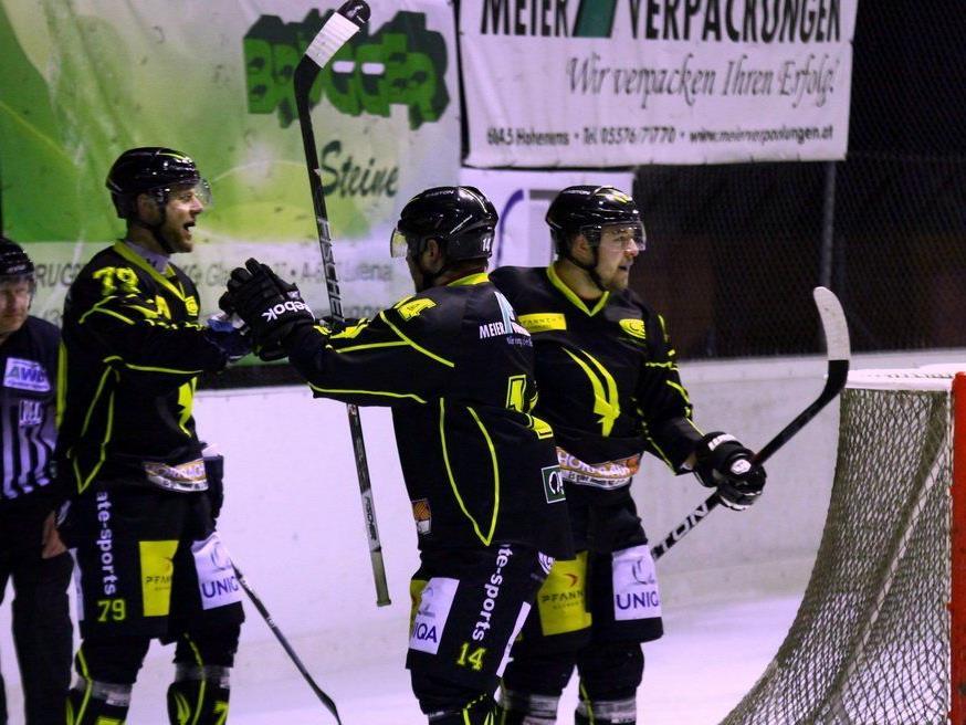 Der SC Hohenems feierte im Derby einen mühevollen Heimsieg.