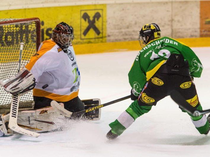 EHC Lustenau gewann gegen Maribor mit 7:1 und ist nun Vierter.