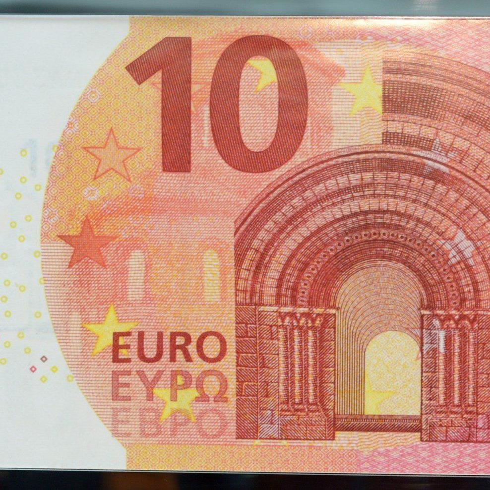 Die Gestaltung der neuen Zehn-Euro-Note orientiert sich zu großen Teilen am Vorgänger