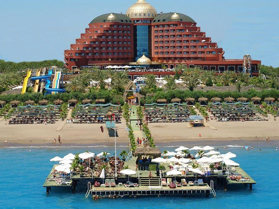 Türkei: Hotel Delphin Palace ***** in Lara.