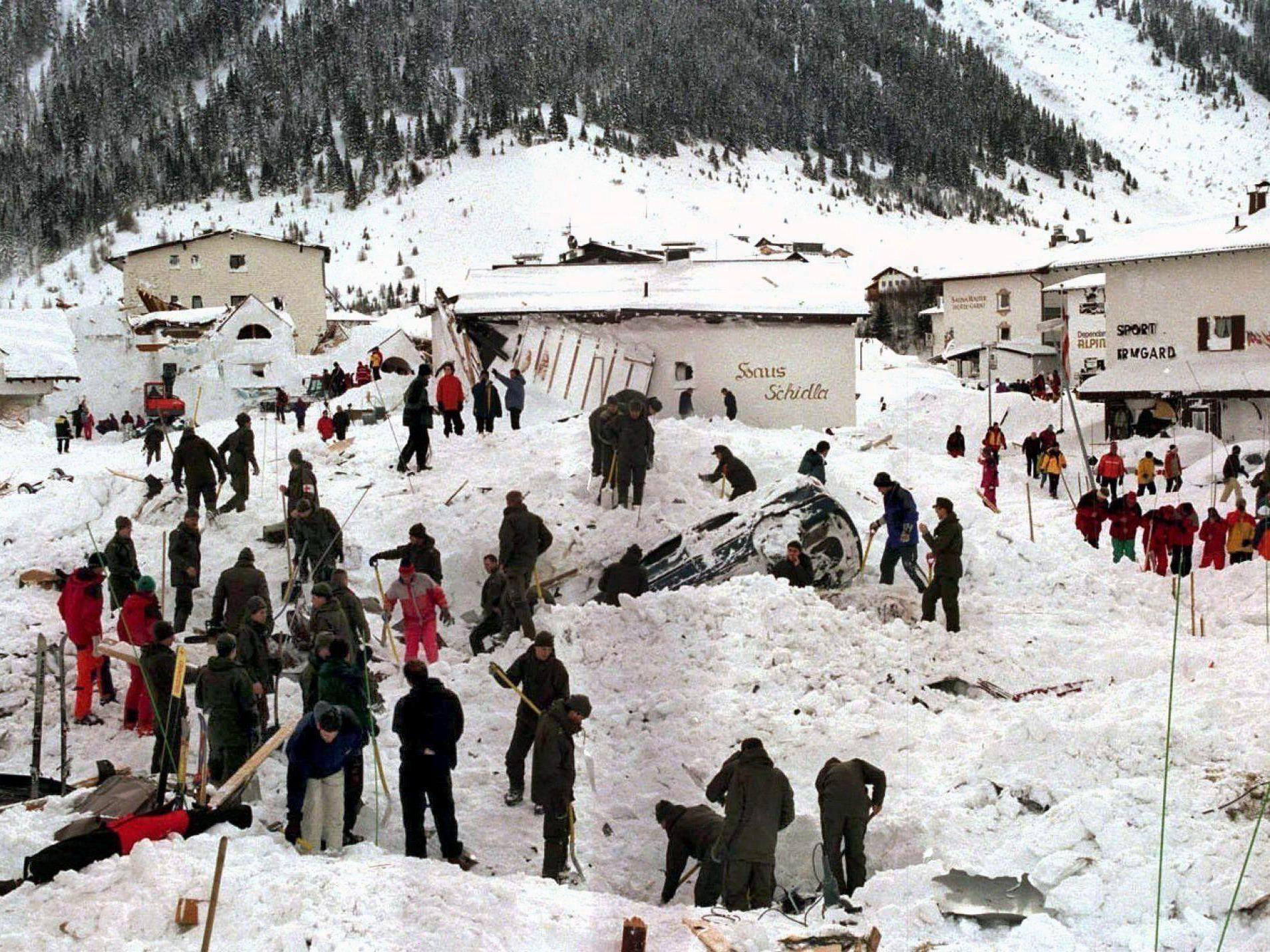 Am 23. Februar 1999 wurde Galtür von einer Lawine heimgesucht, die 31 Menschenleben forderte.