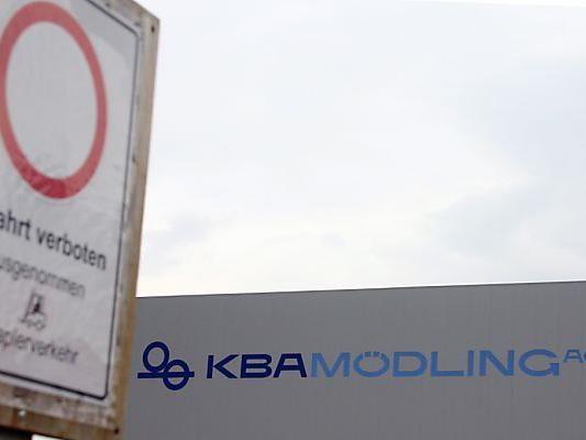 Heute Verhandlungen über Jobabbau bei KBA-Mödling