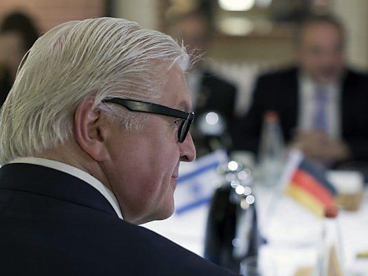 Deutschlands Außenminister Steinmeier