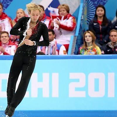 Pluschenko begeisterte die Zuschauer in Sotschi