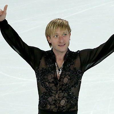 Viel umjubelter Eiskunstlauf-Superstar Jewgeni Pluschenko