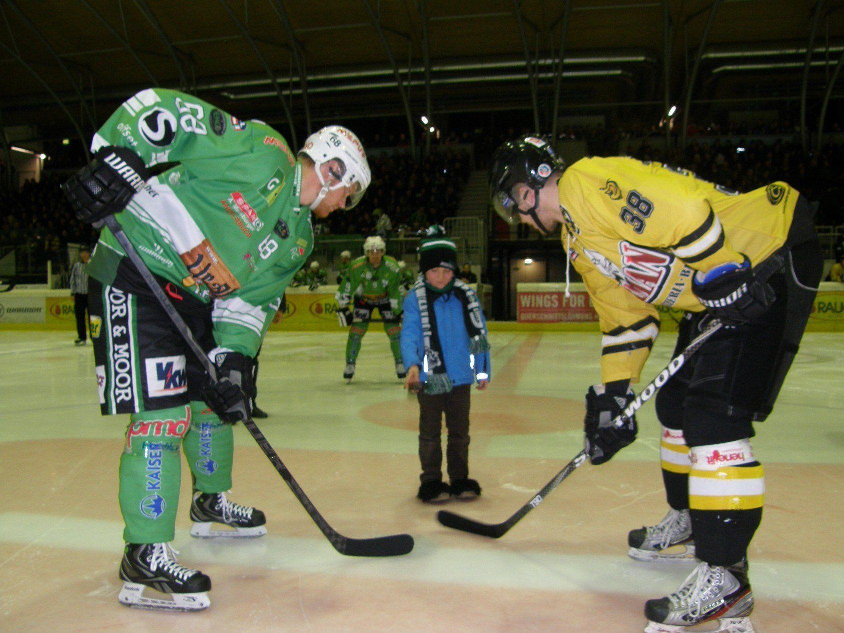 Kleiner Mann ganz groß: Marcel beim ersten Bully.