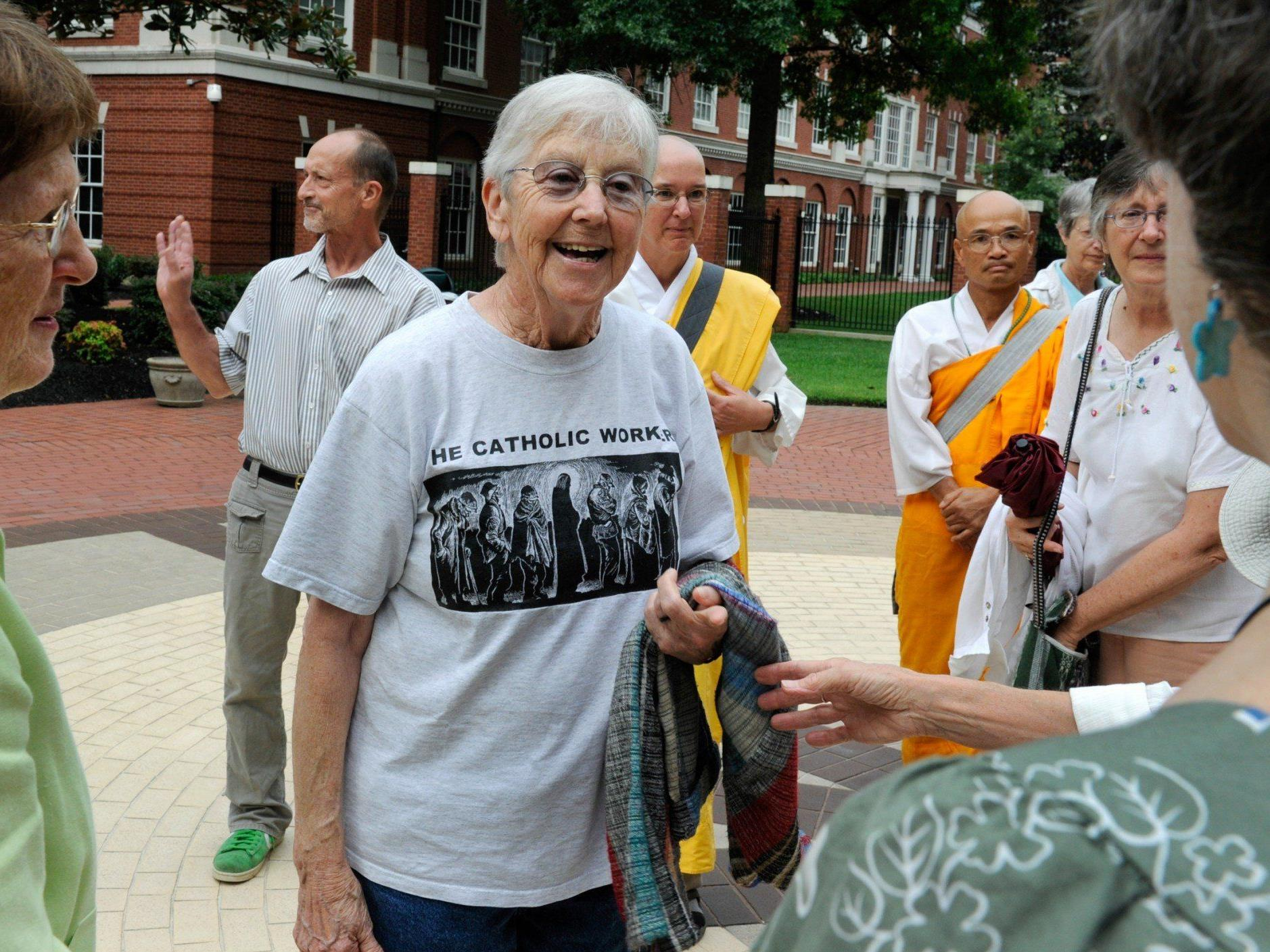 Schwester und Friedensaktivistin Megan Rice drang in ein US-Atomgelände ein.