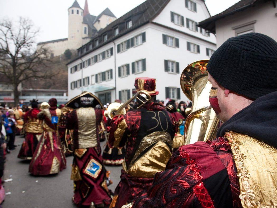 Die Rankler Faschingsgruppen sind am Samstag, 1. März, ab 14.00 Uhr in Götzis zu sehen.