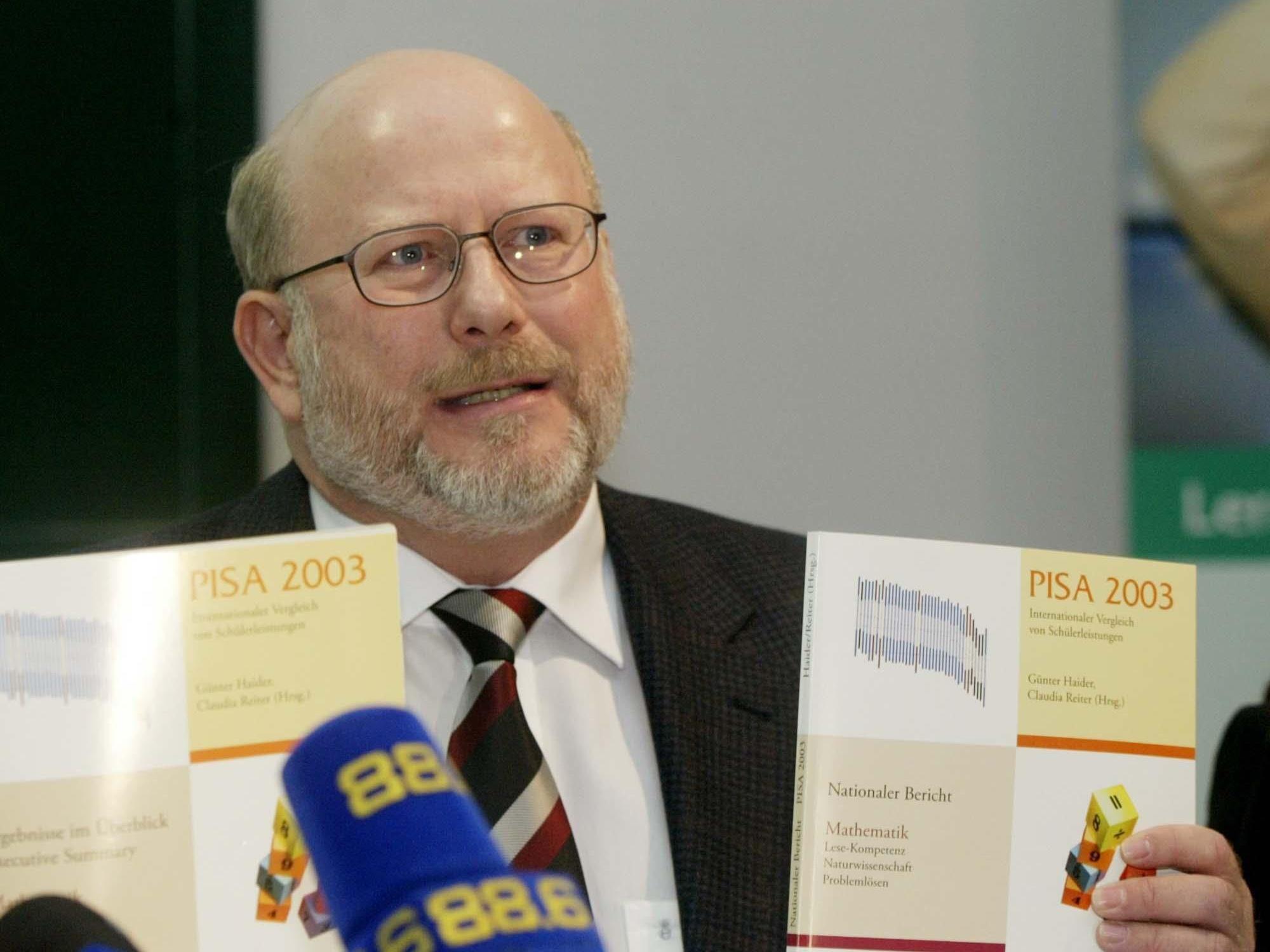 Günter Haider sieht das Datenleck beim Bifie unproblematisch.
