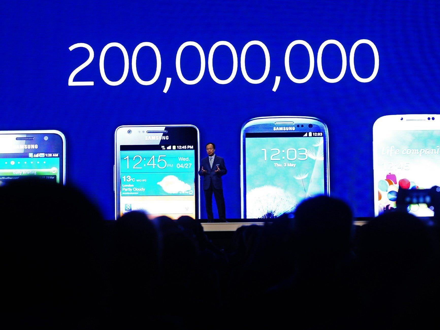 Gestern präsentierte Samsung sein neues Galaxy-Smartphone.