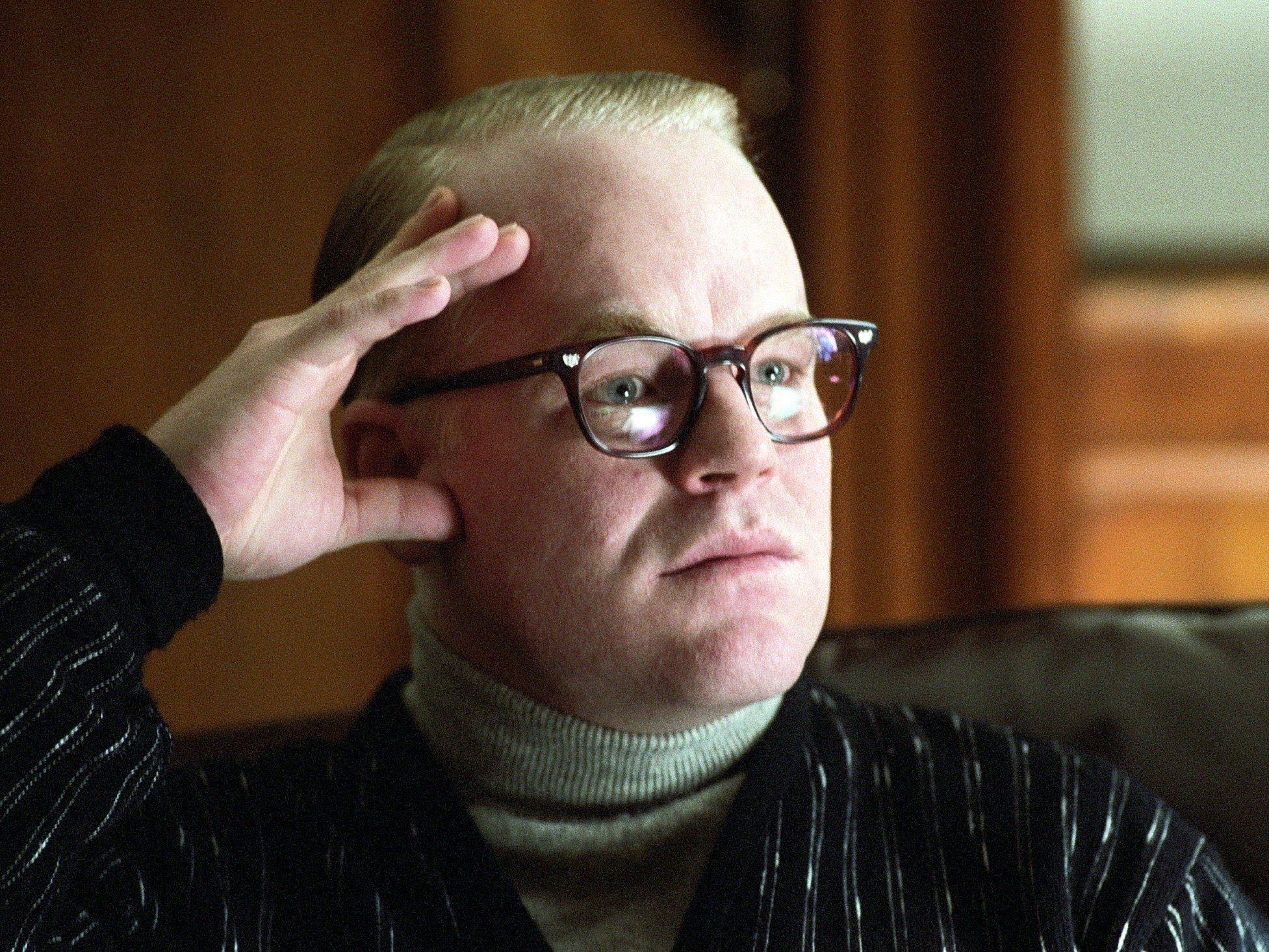 """Von seiner Drogensucht schrieb Hoffman als """"Dämonen"""", die ihn verfolgten."""