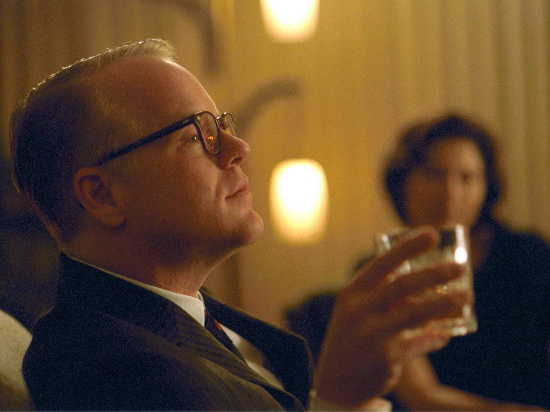 Philip Seymour Hoffman wurde kurz vor seinem Tod betrunken in einem Flieger gesichtet.